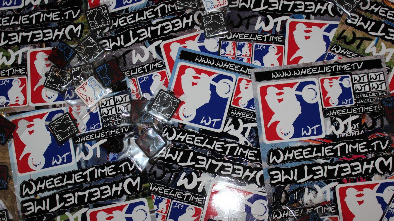 wheelietime stickersheet